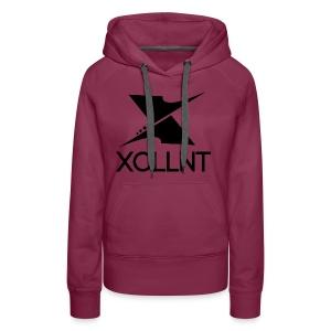 Xcllnt Logo Black - Women's Premium Hoodie