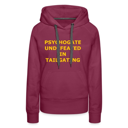 Undefeated In Tailgating - Women's Premium Hoodie