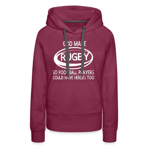 GOD MADE RUGBY SHIRTS - Women's Premium Hoodie