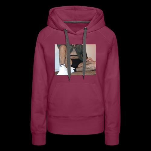 self modeled - Women's Premium Hoodie