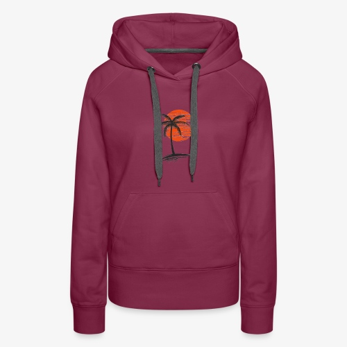 Palm Tree Original - Women's Premium Hoodie