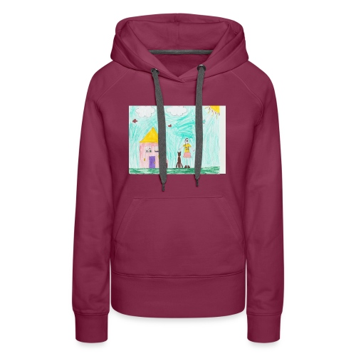 lili artwork - Women's Premium Hoodie