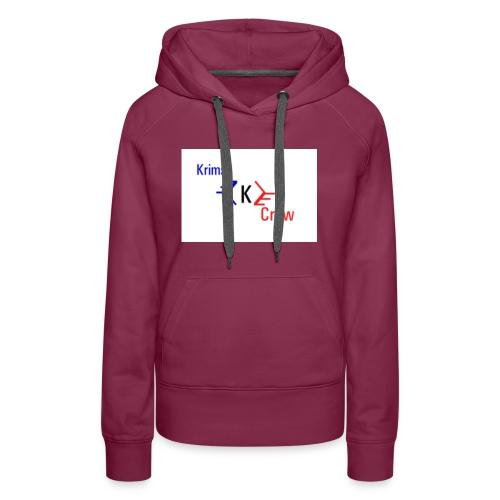 krimsy crew shirt - Women's Premium Hoodie