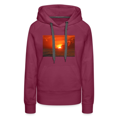 Sunrise on Vilano Beach - Women's Premium Hoodie
