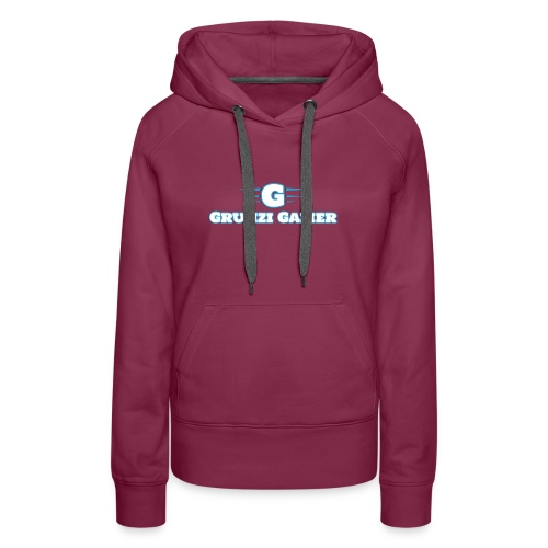 logo and channel name - Women's Premium Hoodie