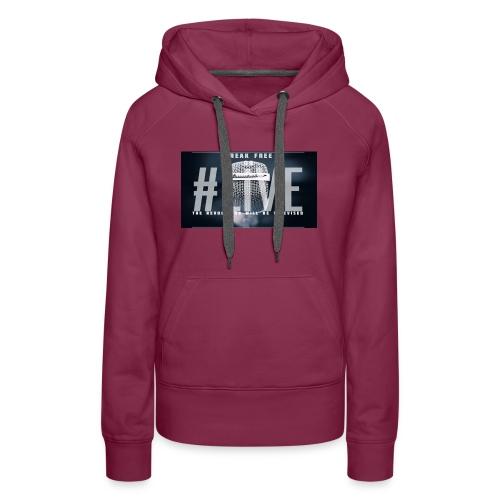 Break Free Go Live - Women's Premium Hoodie
