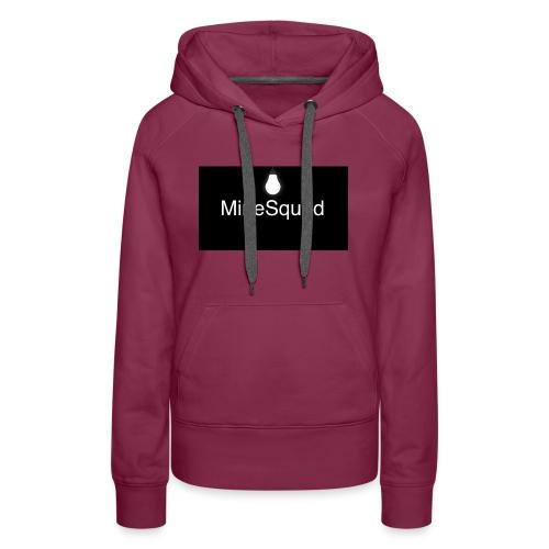 #MineSquad Thinking Logo - Women's Premium Hoodie