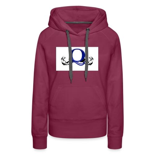 Q logo - Women's Premium Hoodie