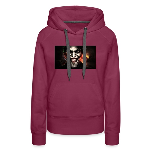 Jokers Evil Scheme - Women's Premium Hoodie