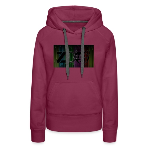 ZDOG upgraded verison - Women's Premium Hoodie