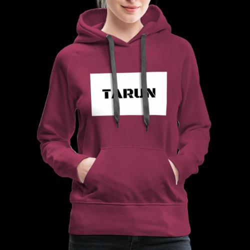 THE TARUN MERCH - Women's Premium Hoodie