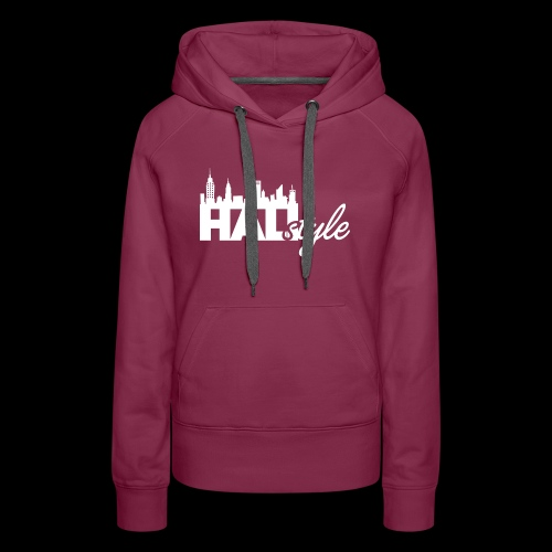 HALIStyle City Skyline - Women's Premium Hoodie