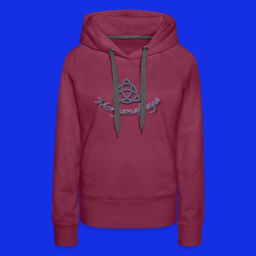 Morganafreya Celtic Knot Icon - Women's Premium Hoodie