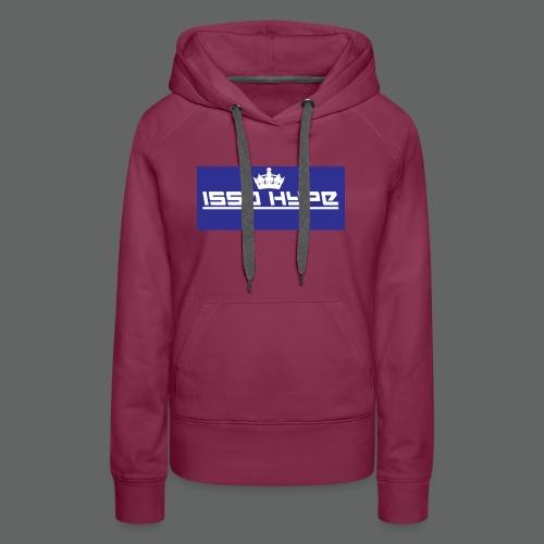 issahype_blue - Women's Premium Hoodie