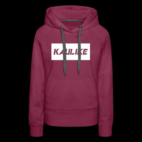 Black hoodie & Red shirt - Women's Premium Hoodie