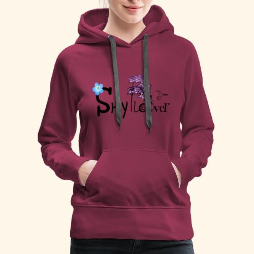 skyflower logo - Women's Premium Hoodie