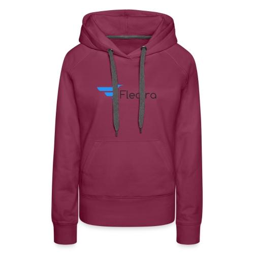 Flectra Official Logo Merchandise - Women's Premium Hoodie