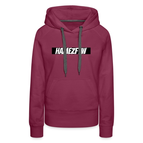 pink-youtube-banner-template_18772 - Women's Premium Hoodie