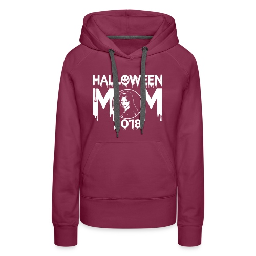 Hatchet Halloween Mom 2018 Tee - Women's Premium Hoodie