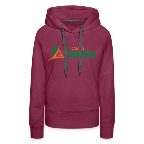 CampGeeks Logo - Women's Premium Hoodie