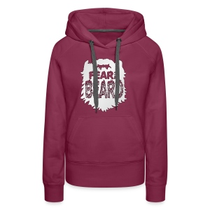 Fear The Beard - Women's Premium Hoodie