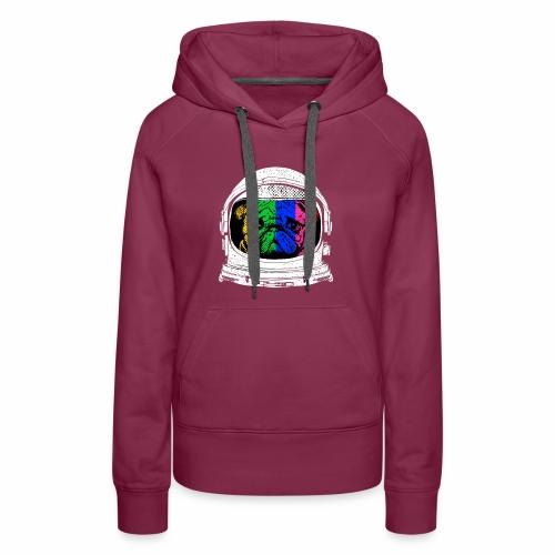 Astronaut Pug T-Shirt - Women's Premium Hoodie