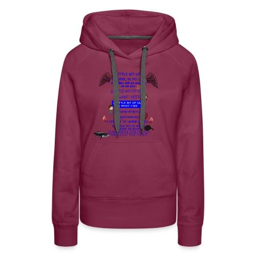 Supernatural song spoof shirt - Women's Premium Hoodie