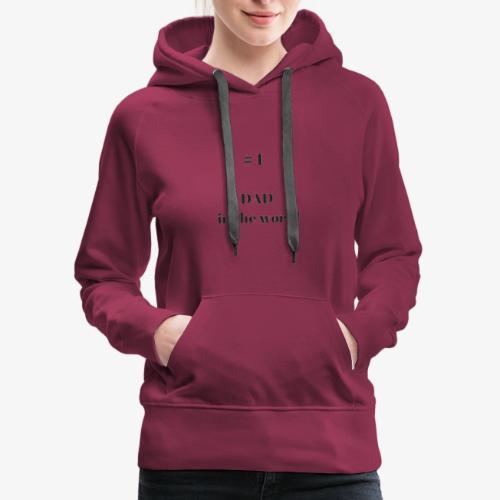 1 dad - Women's Premium Hoodie