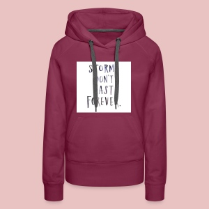 it's all about the wheather - Women's Premium Hoodie