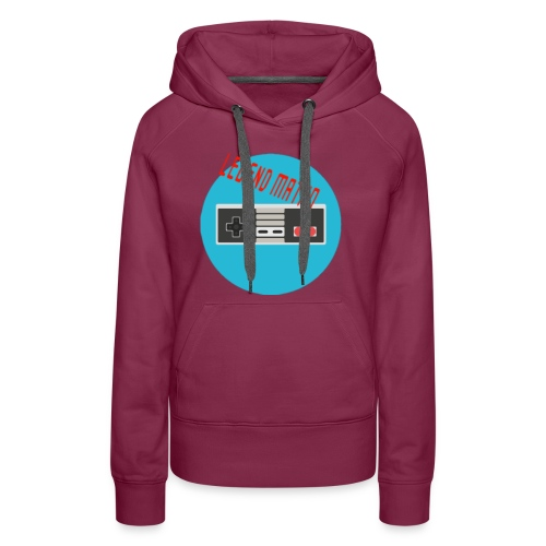 Legend Matho RETRO logo! - Women's Premium Hoodie