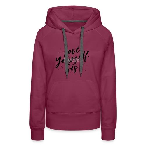Tshirt Design love02 - Women's Premium Hoodie