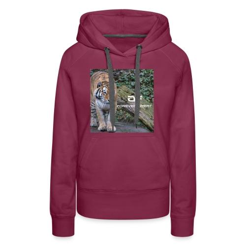 Forever Great tiger design - Women's Premium Hoodie