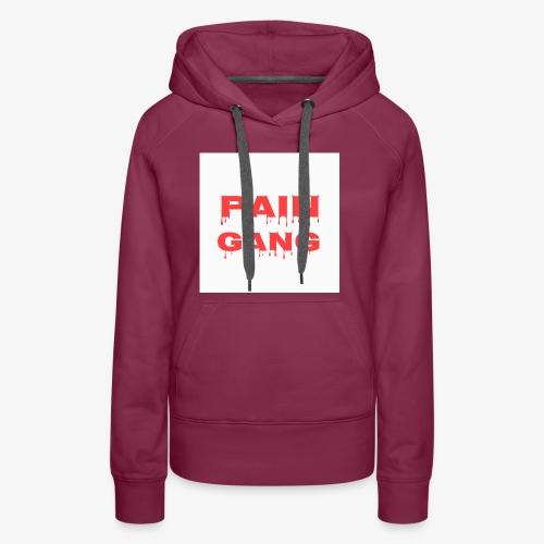 pain gang - Women's Premium Hoodie