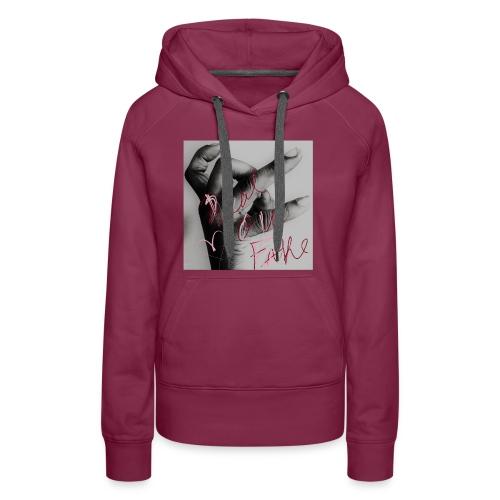 Real Ova Fake (Women) - Women's Premium Hoodie
