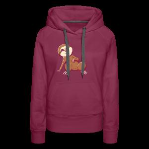 Baby Sloth - Lio - Women's Premium Hoodie