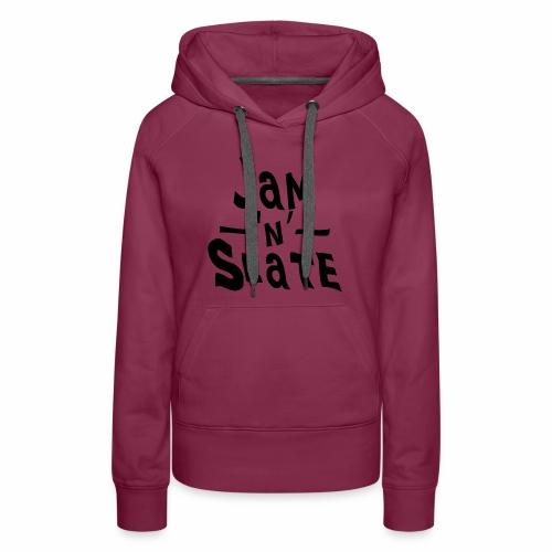 Jam 'n' Slate Logo - Women's Premium Hoodie