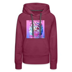 Never To Lazy To Be A Unicorn - Women's Premium Hoodie