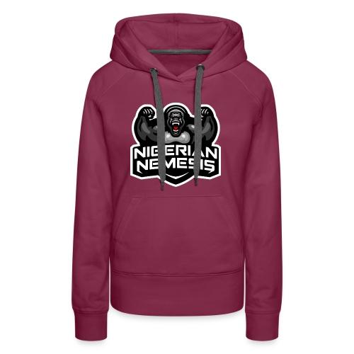 Nigerian Nemesis Gorilla Roar - Women's Premium Hoodie
