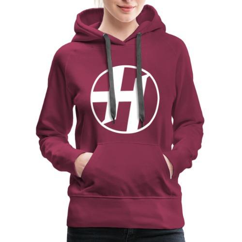 Heirs Logo White Big - Women's Premium Hoodie