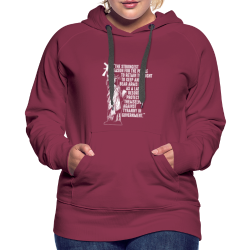 Right To Bear Arms - Women's Premium Hoodie