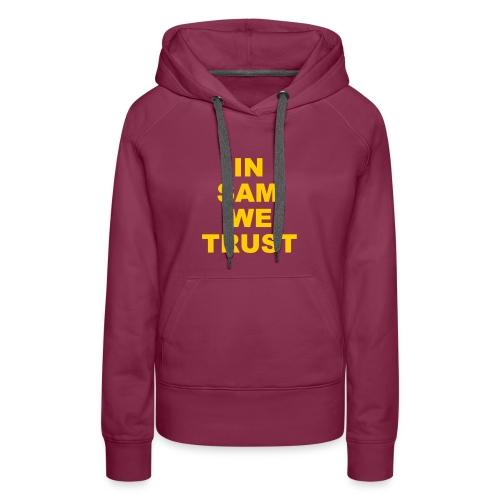 In SD We Trust - Women's Premium Hoodie