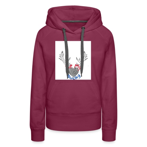 Be my Bucky - Women's Premium Hoodie