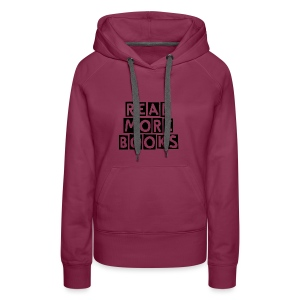 Read More Books - Women's Premium Hoodie