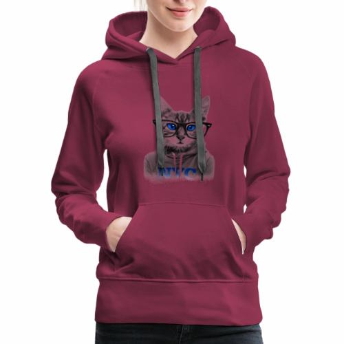 CAT TSHIRTS - Women's Premium Hoodie