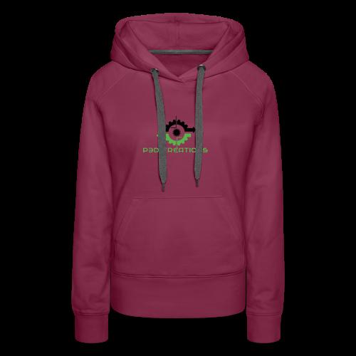 P3D Creations Logo - Women's Premium Hoodie