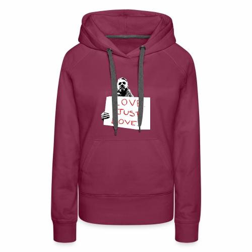Just Love - Women's Premium Hoodie