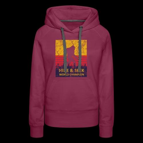 Hide And Seek World Champion T-Shirts - Women's Premium Hoodie
