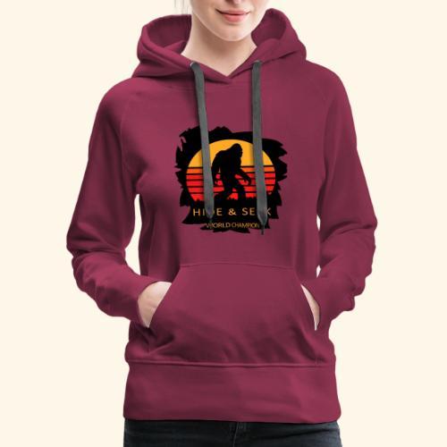 Hide And Seek World Champion T-shirt Bigfoot - Women's Premium Hoodie