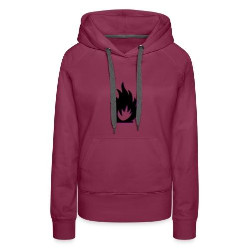 cute fire symbol - Women's Premium Hoodie