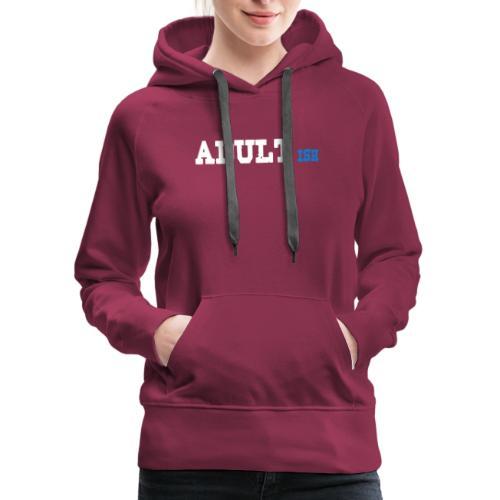 adult-ish - Women's Premium Hoodie